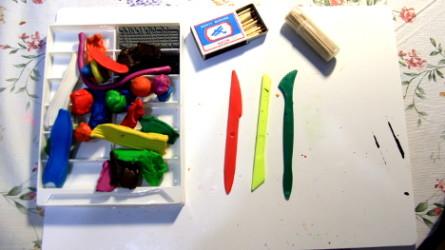 как научиться лепить из пластилина